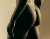 Men's buttocks