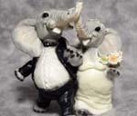 Elephants get married to entertain tourists